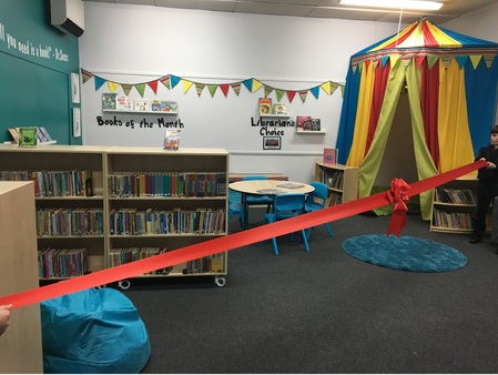 Library Opening Day